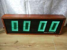 Elektronika 7-06K Vintage Rare Soviet digital wall clock 1986 USSR