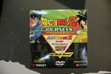 Dragon Ball Z Journeys DVD Target exclusive Sealed Final ep of Z  First ep of GT