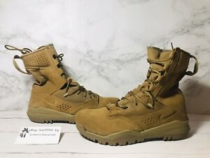 """Nike SFB Field 2 8""""Leather Coyote Tactical Boots AQ1202-900 Military Men Size 10"""