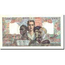 [#211872] France, 5000 Francs, 5 000 F 1942-1947 ''Empire Français'', 1945