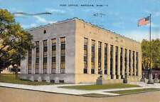 Meridian Mississippi Post Office Street View Antique Postcard K44094