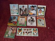 "16 ""Original"" ""WILLIE MAYS"" (""HOF"")  ""BASEBALL CARDS"" "" (3rd PHOTO-1964 TOPPS)"