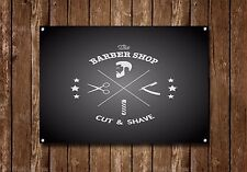 Barber Shop Sign, Metal Sign, Barber Shop Signs, Modern Style, Barber Shop, 820