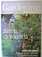 Gardening Which? Magazine. July, 1999. Plants to come home to. Fountains effect.
