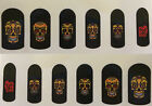 B2G1 NPW Cina Nail Art Decals Stickers Face Finger Tattoos Over 60 Varieties!