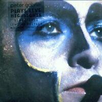 Peter Gabriel-Plays Live CD Live  Excellent
