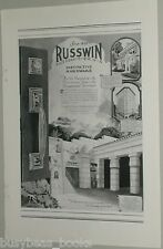 1925 Russell & Erwin hardware advertisement, Grauman's Egyptian Theatre