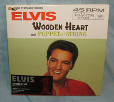 Elvis Presley Wooden Heart - limited edition numbered CD single