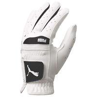 Puma Ladies Flexlite Performance Left Hand Golf Glove LLH Leather White Cobra