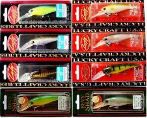 Lucky Craft Bevy Shad 75 Sp Fishing, Japan Wobbler, Bait, Trout, Predators