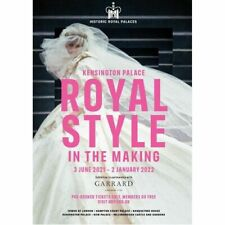 More details for princess diana royal style in the making poster (a3) kensington palace 2021