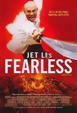 FEARLESS Movie POSTER 27x40 Jet Li Jon T. Benn Collin Chou Anthony De Longis