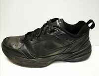 Nike Air Monarch Men's Black Walking Training Sneaker Shoes 415455-001 Size 10.5