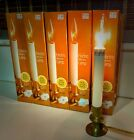Lot of 10 Vintage Electric Window Candle Light Brass Christmas Welcome Lamp NOS