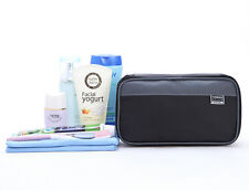 Mens Waterproof Toiletries Bag Wash Shower Organizer Kit Case Size Small #20