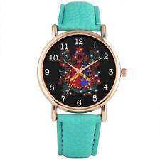 Fashion Women's Quartz Wristwatch Analog Watch Arabic Numeral Leather Bracelet