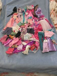 Large Lot of Barbie Doll Fashion Clothes