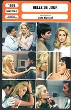 BELLE DE JOUR - Deneuve,Sorel,Piccoli,Clémenti,Bunuel (Fiche Cinéma) 1967