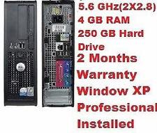 Dell Optiplex 745 Pentium D (doble núcleo) 2.8 Ghz 250 Gb Hd 4 Gb Ram Dvd Rom