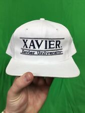 size 40 488d1 7289d VTG 90 s The Game Xavier University Musketeers NCAA Youth Snapback Hat  White EUC