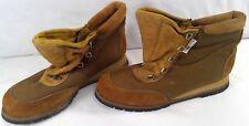 Rocky Boots womens boots man made upper vibram sole size women 9M brown