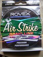 Rovex Air Strike Braid Fishing Line - 15lb 150yds - 6.8kg 135m
