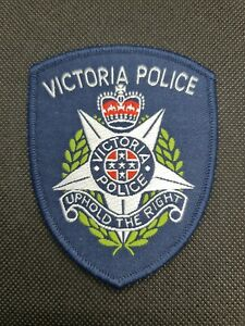 Victoria police patch (social)