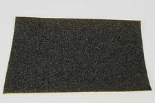 """1.5mm THICK 8"""" x 5"""" BLACK OPEN CELL SELF ADHESIVE FIRM FOAM SPONGE SHEET CAMERA"""