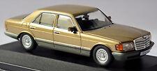 Mercedes Benz S Klasse 500 SE W126 Limousine 1979-85 gold metallic 1:43