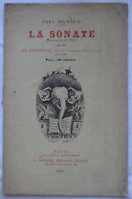 Paul Bilhaud - La sonate  dit par de Feraudy de la Comédie Française Micaud 1883