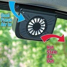 Solar Power Car ventola di raffreddamento auto freddo auto Air Vent finestra Lüf