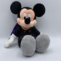 """Mickey Mouse Plush Halloween Vampire Disney Stuffed Animal Decor Hallmark 13"""""""