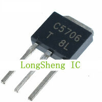 100 PCS 2SC5706 TO-251 C5706 High Current Switching Applications TRANSISTORS NPN