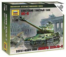 Zvezda 1/100 Soviet Joseph Stalin-2 Heavy Tank Z6201