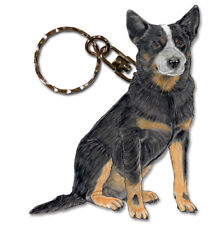 Australian Cattle Dog Key Ring