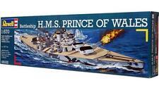 NEW 1/570 scale model WW2 Battleship  HMS PRINCE of WALES British