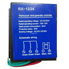 400W DC 12/24V Wind Turbine Generator Charging Charger Controller Regulator