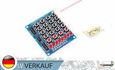 4x5 Button Tastatur 20 Tasten 8LEDs für Arduino Raspberry Pi DIY Mikrocontroller