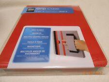 New magnetic red Grip Case ipad, 3rd gen, ipad2, sleep/wake function Christmas