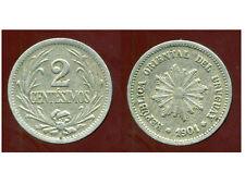 URUGUAY  2 centesimos  1901