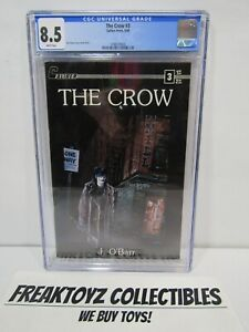 The Crow #3 CGC Universal Grade 8.5 Caliber 1989