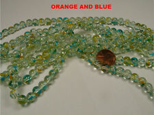 WHOLESALE LOT 300+ PIECES 8MM ROUND GLASS BEADS (1230201616)