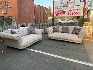 🖤🖤 Tetrad oskar Grey Leather Sofa Set 3+2 🖤🖤
