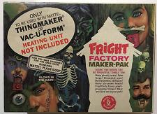 MATTEL FRIGHT FACTORY THINGMAKER CREEPY CRAWLERS PLASTIGOOP LOOK!!