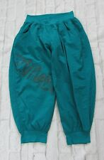Zumba Hi Hop Orbit Cargo Capri Dance Pants Turquoise Size Medium