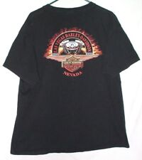 Harley-Davidson Las Vegas Twin Cam 88 T Shirt XL Motorcycle Engine Biker