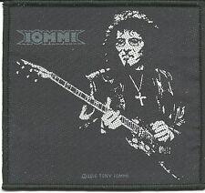TONY IOMMI guitar 2016 - WOVEN SEW ON PATCH official merchandise BLACK SABBATH