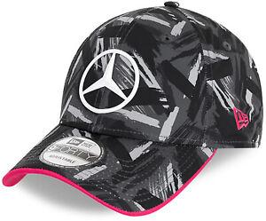 Mercedes EQ New Era 940 AOP Black/Grey Team Cap
