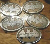 Silver Batman Superhero Wedding Favour Table Confetti Keepsakes Decoration