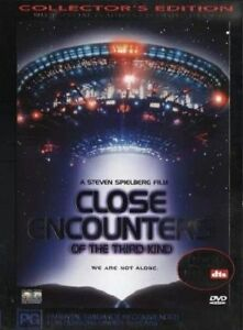 Close Encounters Of The Third Kind DVD Region 4 Collectors Edition Free post